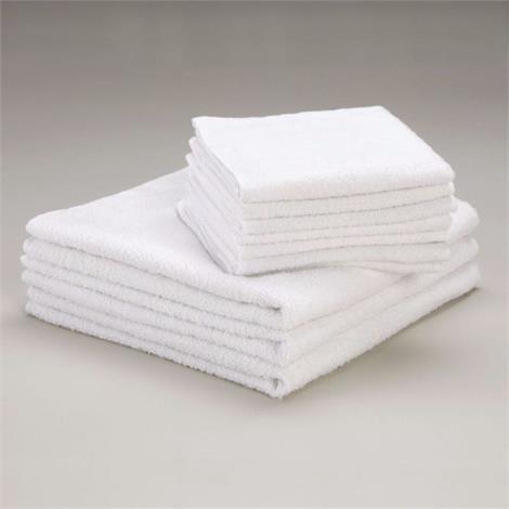 "Sammons Preston Terry Cloth Towels,12"" x 12"",12/Pack,564805"