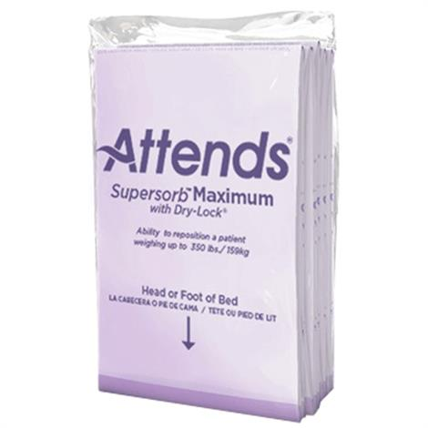 """Attends Supersorb Maximum Underpads,30"""" x 36"""",5/Pack,ASBM-3036"""