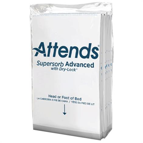 """Attends Supersorb Advanced Underpads,23"""" x 36"""",5/Pack,ASB-2336"""