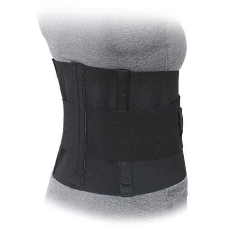 Advanced Orthopaedics 10-Inch Lumbar Sacral Support With Double Pull Tension Straps,Black,2X-Large,Each,509-B