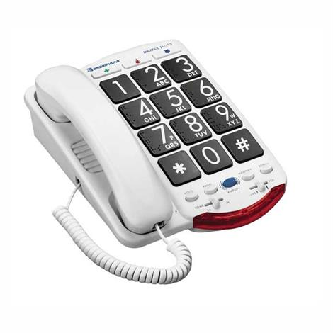 Clarity Ameriphone Amplified Phone with Talk Back Numbers,Amplified Braille Phone,Each,CL-JV35/50