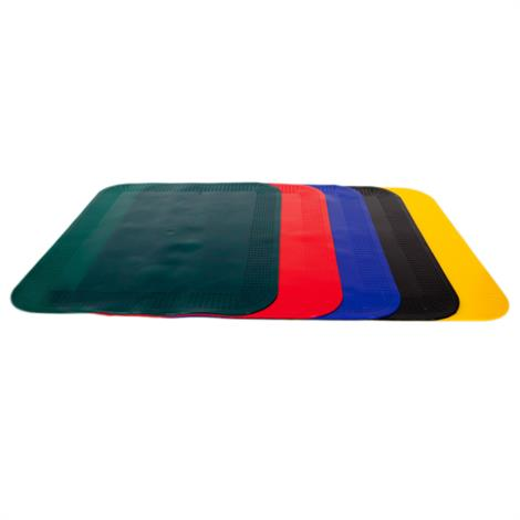 """Image of Dycem Non-Slip Material Pads,Rectangular Pad - Red,10""""x14"""",Each,50-1591R"""
