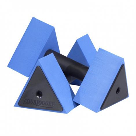 AquaJogger DeltaBells Water Resistance Hand Buoys,Purple,Pair,AP83
