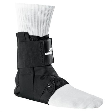 Breg Lace Up Ankle Brace With Stays,Large,Each,90174