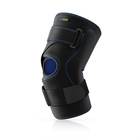 Actimove Knee Brace Wrap Around With Polycentric Hinges,Large,Each,7311803