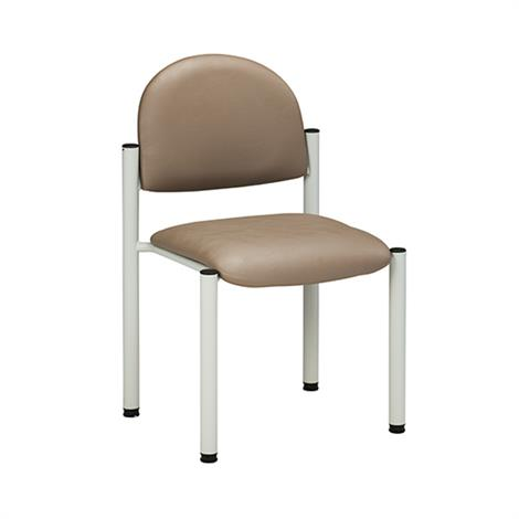 Clinton Gray Frame Side Chair with Wall Guard and No Arms,Allspice (3AS),Each,C-40G