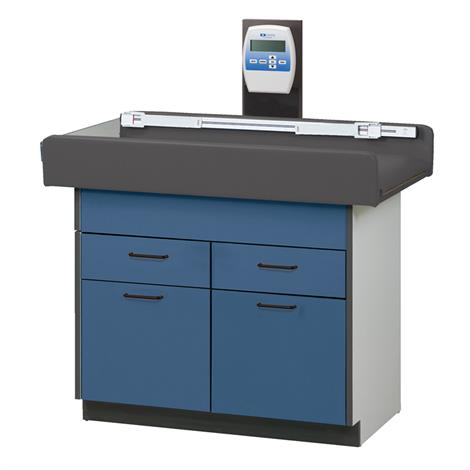 Clinton Select Series Pediatric Scale Treatment Table with Two Drawers and Two Doors,0,Each,7840
