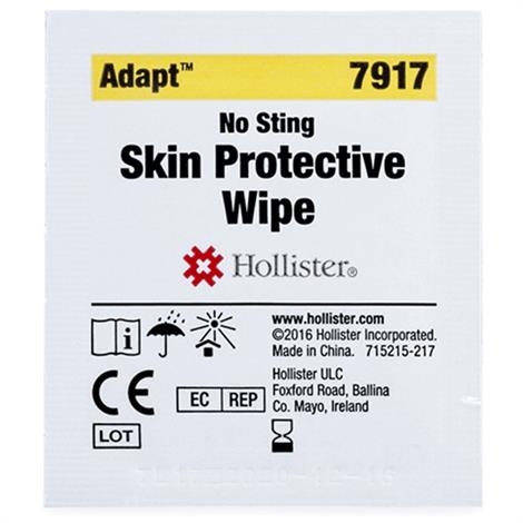 Hollister Adapt Skin Protective Wipes,Wipes,50/Pack,12Pk/Case,7917