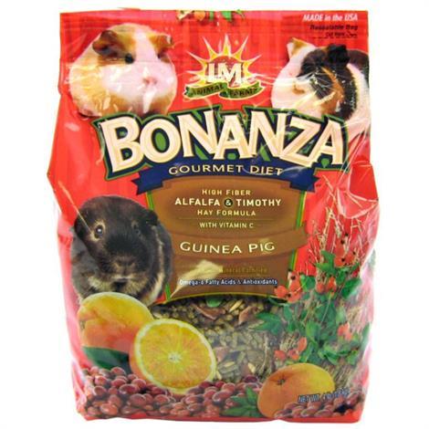 LM Animal Farms Bonanza Guinea Pig Gourmet Diet,20 lbs,Each,75331