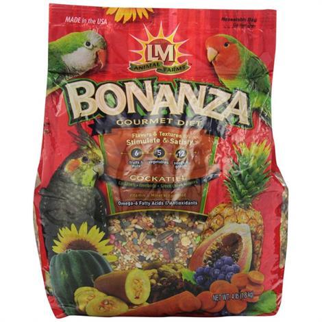 LM Animal Farms Bonanza Cockatiel Gourmet Diet,20 lbs,Each,75731
