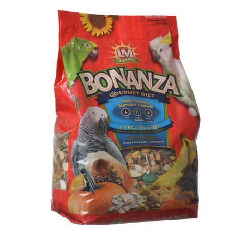 LM Animal Farms Bonanza Large Parrot Diet,20 lbs,Each,75331