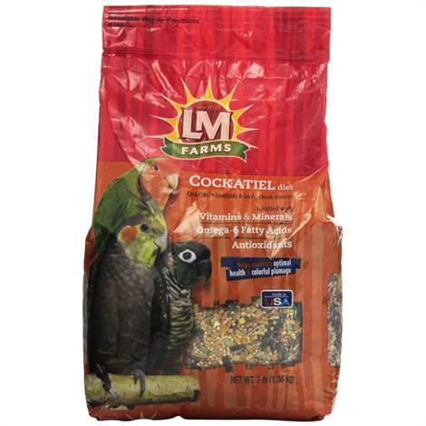 LM Animal Farms Cockatiel Diet,3 lbs,Each,12213