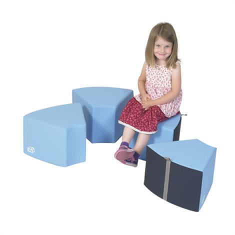 Childrens Factory Seats,Circle Seats - Azure,29