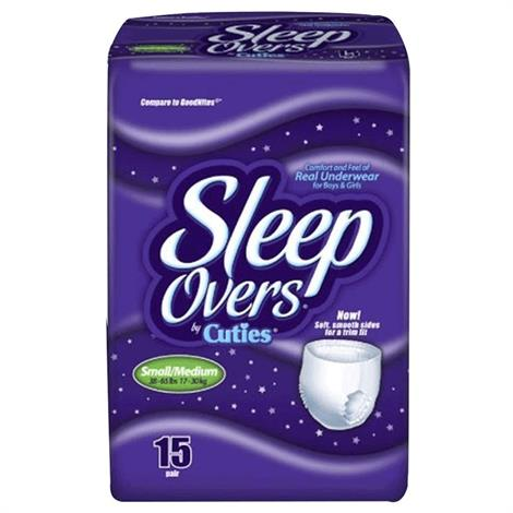 Sleep Overs Disposable Youth Pants,Large/X-Large,12/Pack,4Pk/Case,SLP05302