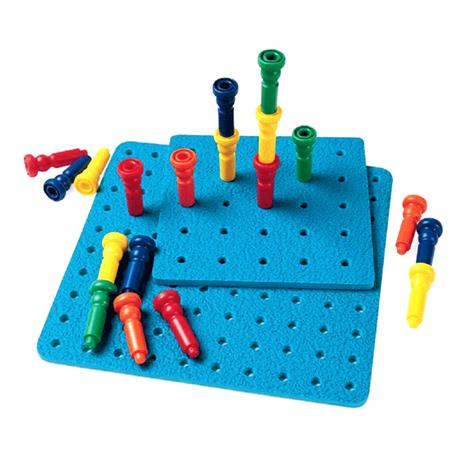 Lauri Pegboards And Tall Stacker Pegs,100 Tall Stacker Pegs,Each,836702
