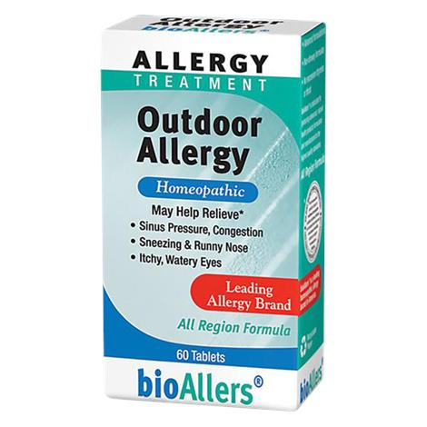 Bio-Allers Outdoor Allergy Tablets,60 Tablets,Each,096021-1