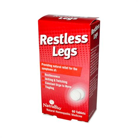 Image of NatraBio Restless Legs,Restless Legs,60 Tablets,Each,ECW681981