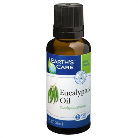 Image of Earths Care Essential Oil,Austr Tea Tree,1 fl Oz,Each,ECW1566249