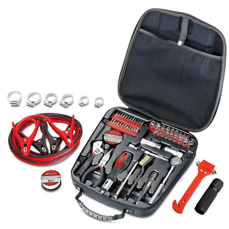 Apollo Travel and Automotive Tool Kit,Automotive Tool Kit,Each,DT-0101