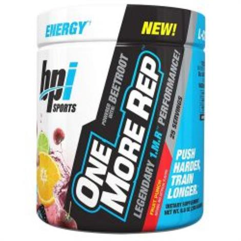 BPI Sports One More Rep Dietary ,Fruit Punch,Each,8040207