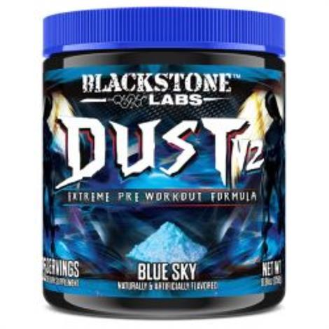 Blackstone Labs Dust 2 Pre Workout Dietary ,Blue Sky,Each,3900020