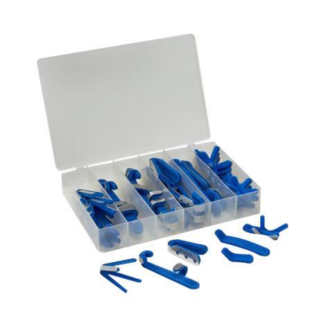 Mabis Dmi Aluminum Finger Splint Assortment Kit,Kit,Each,650-5328-0100