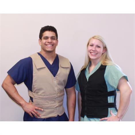 Polar CoolOR Adjustable Zipper Cooling Vest,Blue,2X-Large/3X-Large,Each,PCVZ-KM-2XL/3XL-BLU