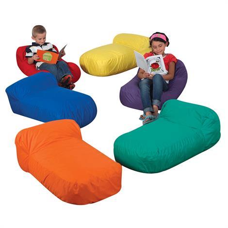 "Childrens Factory Cozy Pod Pillows Set,34"" x 20"" x 12"",6/Pack,CF650-527"