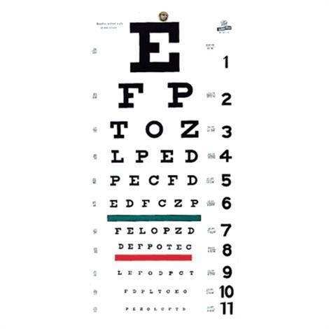 Graham-Field Eye Chart,Eye Chart,Each,1240
