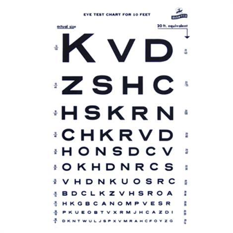 Graham-Field Illuminated Snellen Eye Chart,Eye Chart,Each,1264