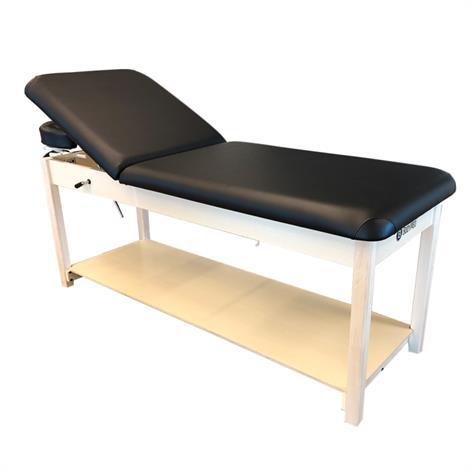 BodyMed Treatment Table with Adjustable Backrest,Treatment Table,Each,BDMTTABBLK