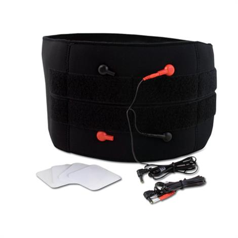 BodyMed Lower Back Pain Relief Kit,Includes Belt / Electrodes and Snap Connectors,Kit,Each,ZZA1501