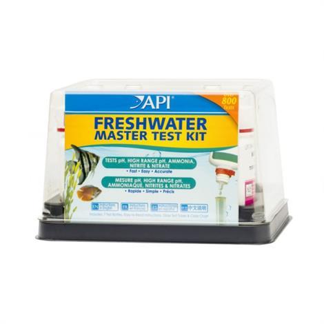 API Freshwater Master Test Kit,Over 800 Tests Per Kit,Each,34