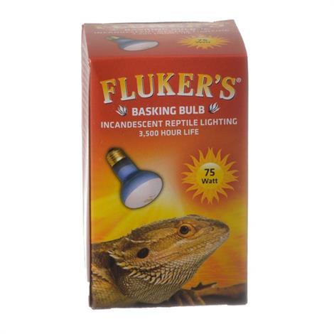 Flukers Incandescent Basking Bulb,100 Watt,Each,22603