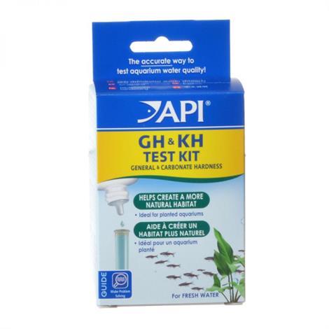 API Freshwater Hardness GH & KH Test Kit,GH &KH test Kit,Each,58