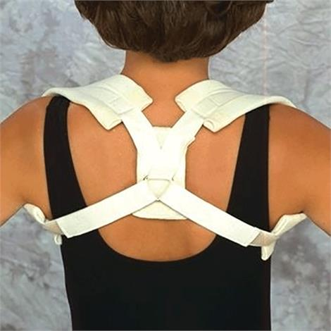 Rolyan Heavy Duty Felt/Foam Clavicle Support,,Age: 1 Year and Under,Each,56083003