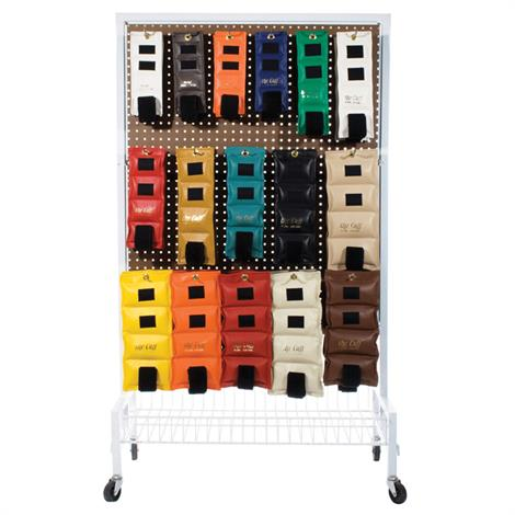 """Cuff Double-Sided Mobile Weight Rack,6"""" x 48"""" x 24"""",Each,#10-0150"""