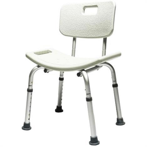 Graham Field Lumex Knock Down Bath Seat,Knock Down Bath Seat with Backrest,Each,7921KD-1