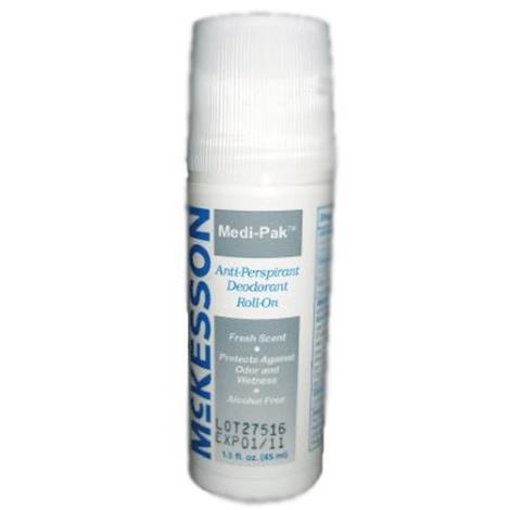 Medi-Pak Roll-On Fresh Scent Deodorant,1.5 oz,Roll-On,96/Case,23-DR15