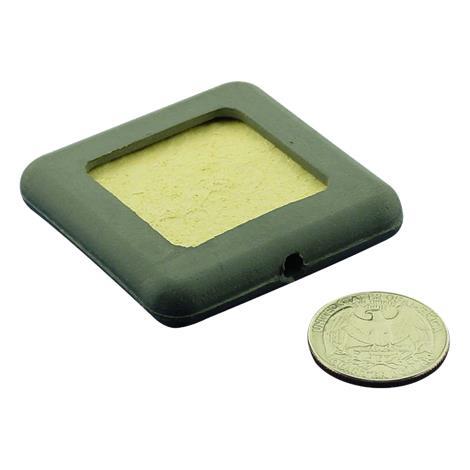 "Amrex Standard Rubber Pad With Sponge Insert,2"" x 2"",Banana Plug,Each,FG-02-A102"