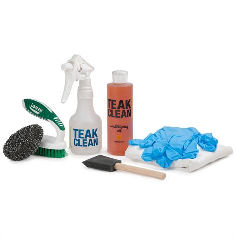 Image of Deluxe Teak Cleaning Kit,Teak Cleaning Kit,Each,TC-DELUXE