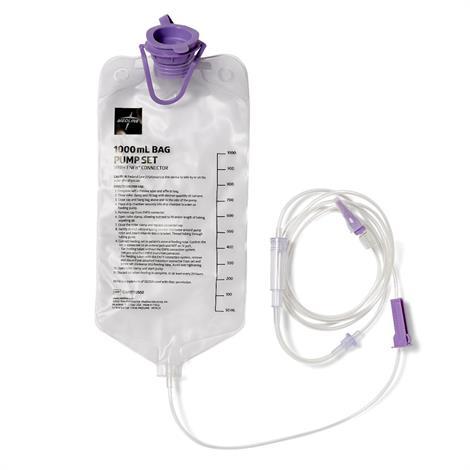 Medline EntraFlo Feeding Sets with ENFit,1000ml Bag,30/Case,ENFIT70552