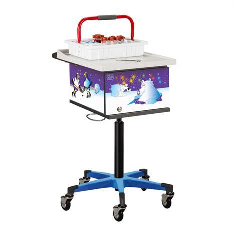 Clinton Pediatric Series Cool Pals Phlebotomy Cart,0,Each,67231