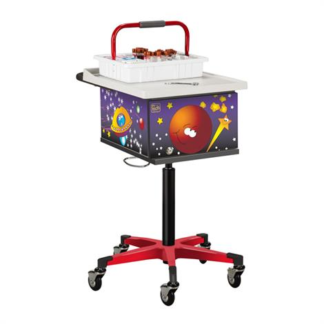 Clinton Pediatric Series Space Place Phlebotomy Cart,0,Each,67235