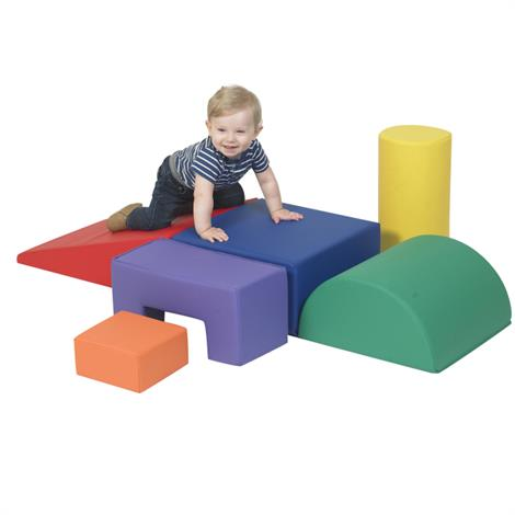 Childrens Factory Climb and Play Play Set,6 Piece Play Set,Each,CF805-168