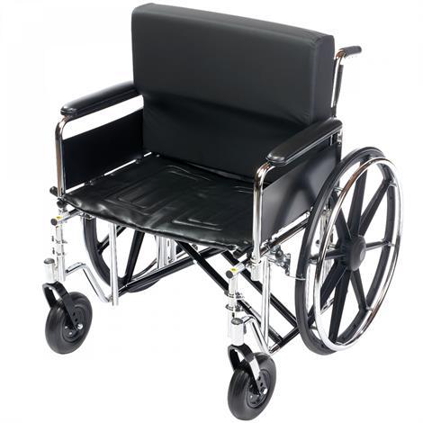 """Lacura Bariatric Wheelchair Backrest,22"""",Each,81714732"""