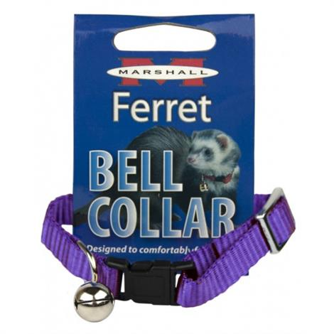 Marshall Ferret Bell Collar - Purple,1 Count,Each,FP-088