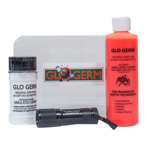 Glo Germ Sanitation Training 1003 Oil Kit,Glo Germ Sanitation Kit,Each,K1O1