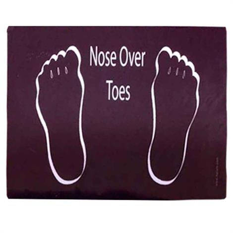 Dycem Nose Over Toes Prompt Mat,Prompt Mat,Each,7100897
