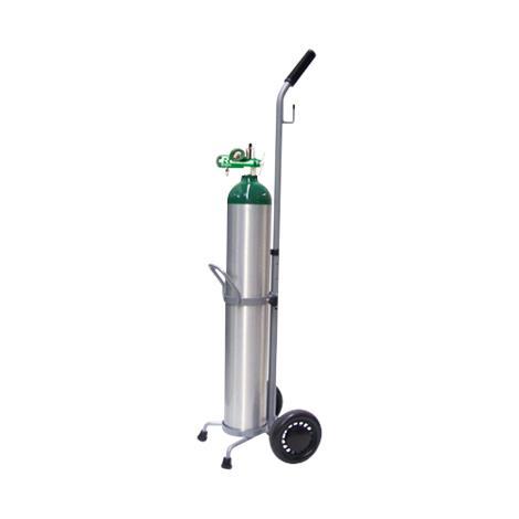 Responsive Respiratory E Cylinder - 15 LPM Regulator And Cart Kit,15 LPM,Each,140-0110 RRI140-0110